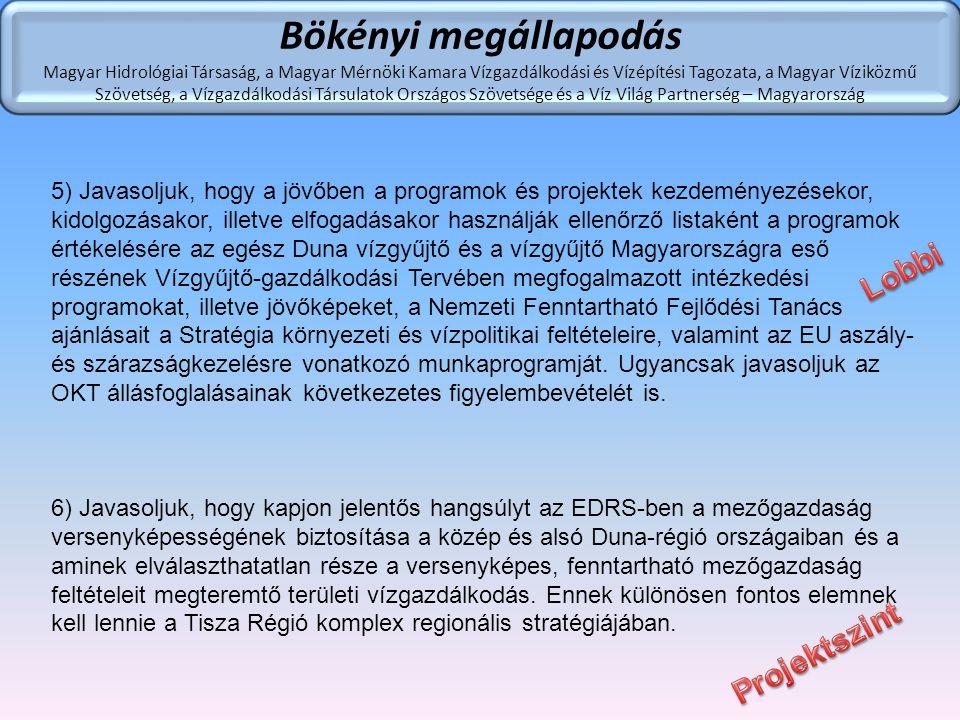 Bökényi megállapodás Lobbi Projektszint