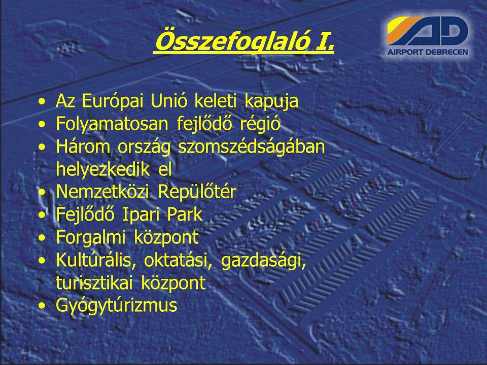 Összefoglaló I. Az Európai Unió keleti kapuja
