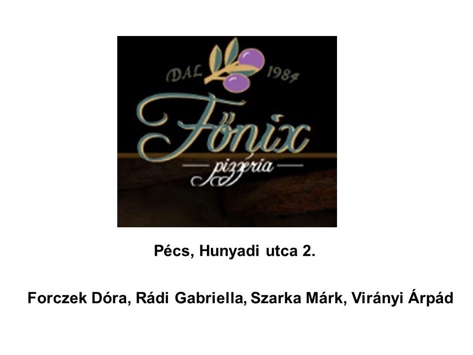 Forczek Dóra, Rádi Gabriella, Szarka Márk, Virányi Árpád