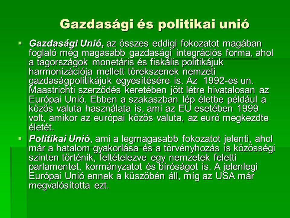 Gazdasági és politikai unió