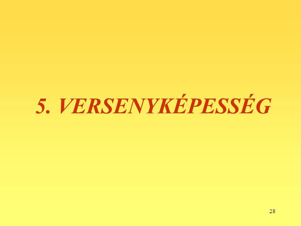 5. VERSENYKÉPESSÉG