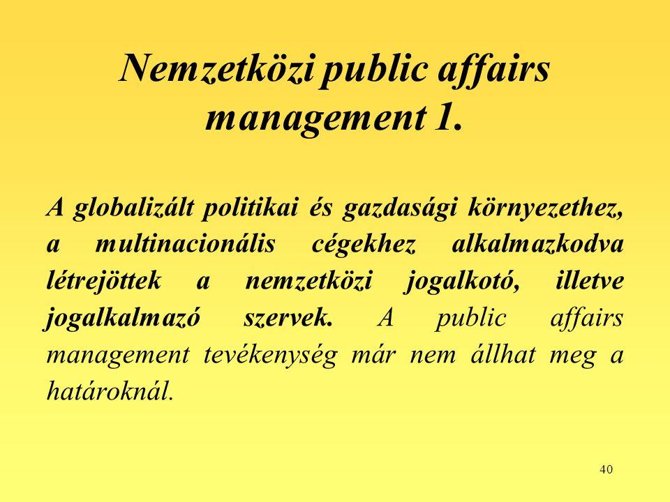 Nemzetközi public affairs management 1.