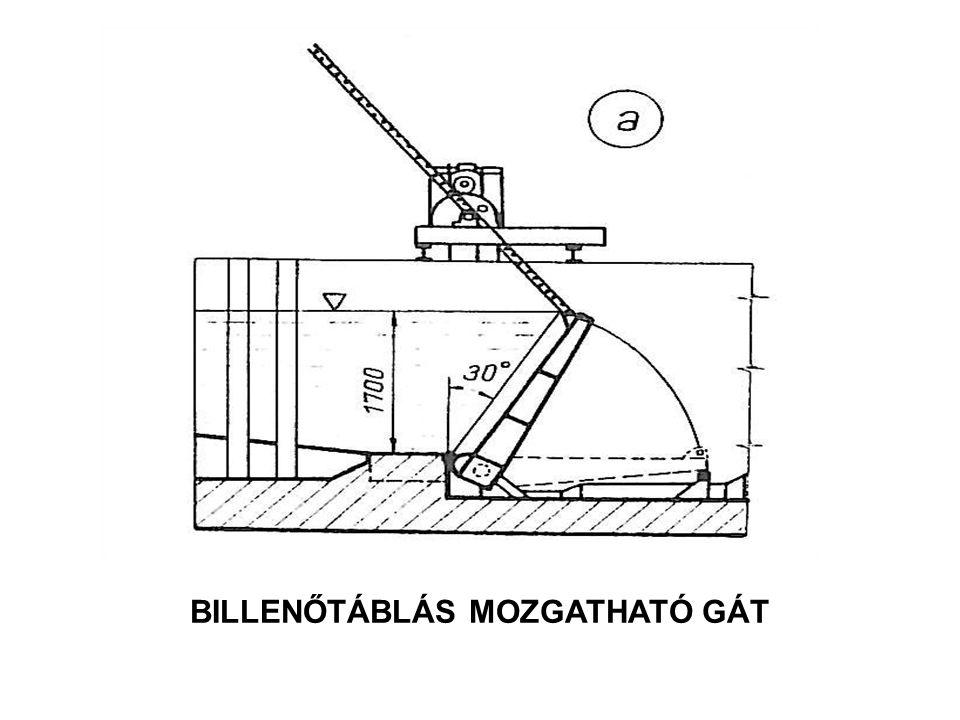 BILLENŐTÁBLÁS MOZGATHATÓ GÁT