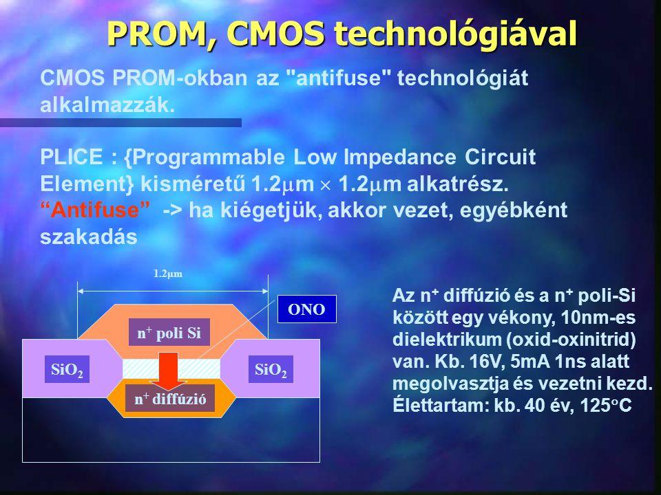 PROM, CMOS technológiával