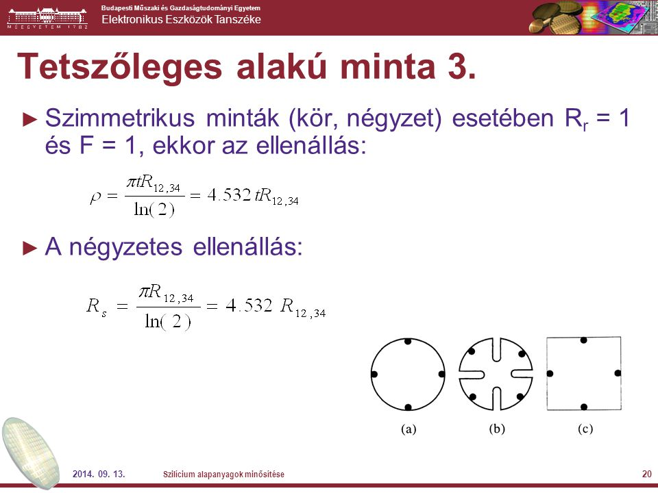 Tetszőleges alakú minta 3.