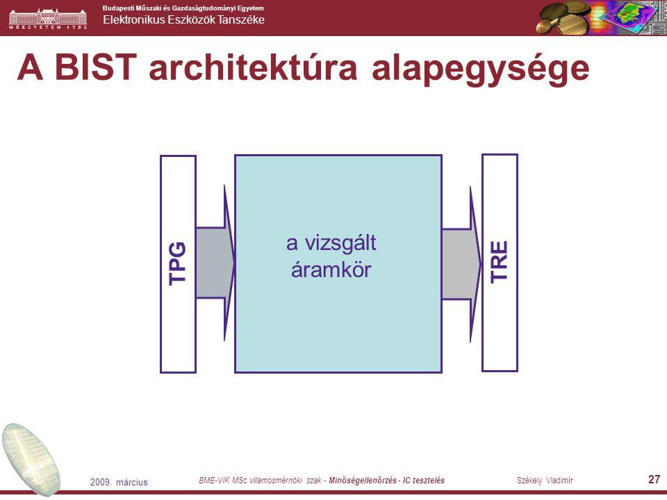 A BIST architektúra alapegysége