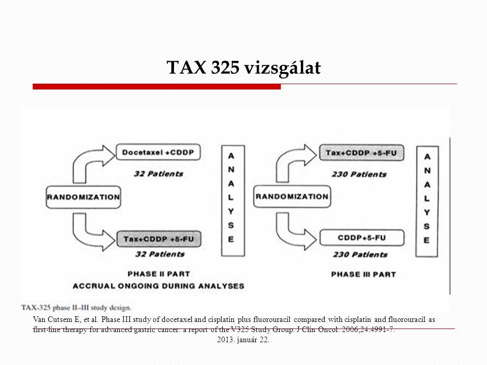 TAX 325 vizsgálat