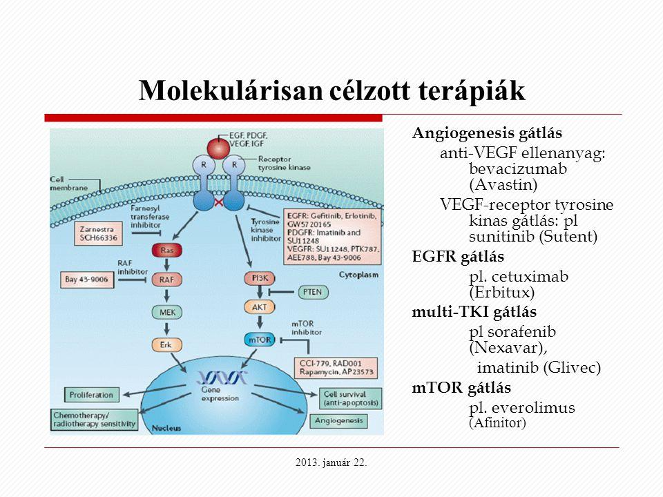 Molekulárisan célzott terápiák