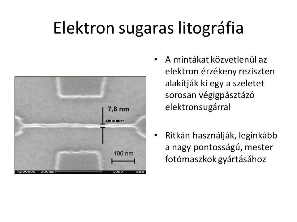 Elektron sugaras litográfia