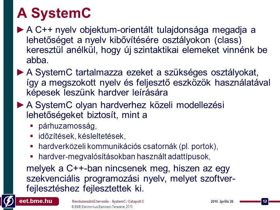 A SystemC