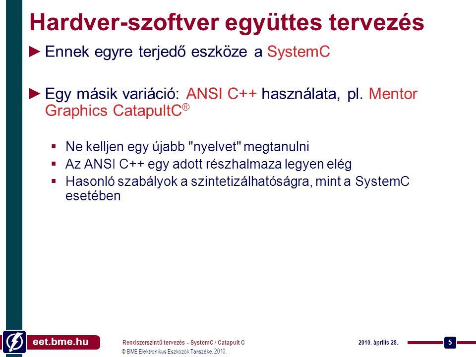 Hardver-szoftver együttes tervezés
