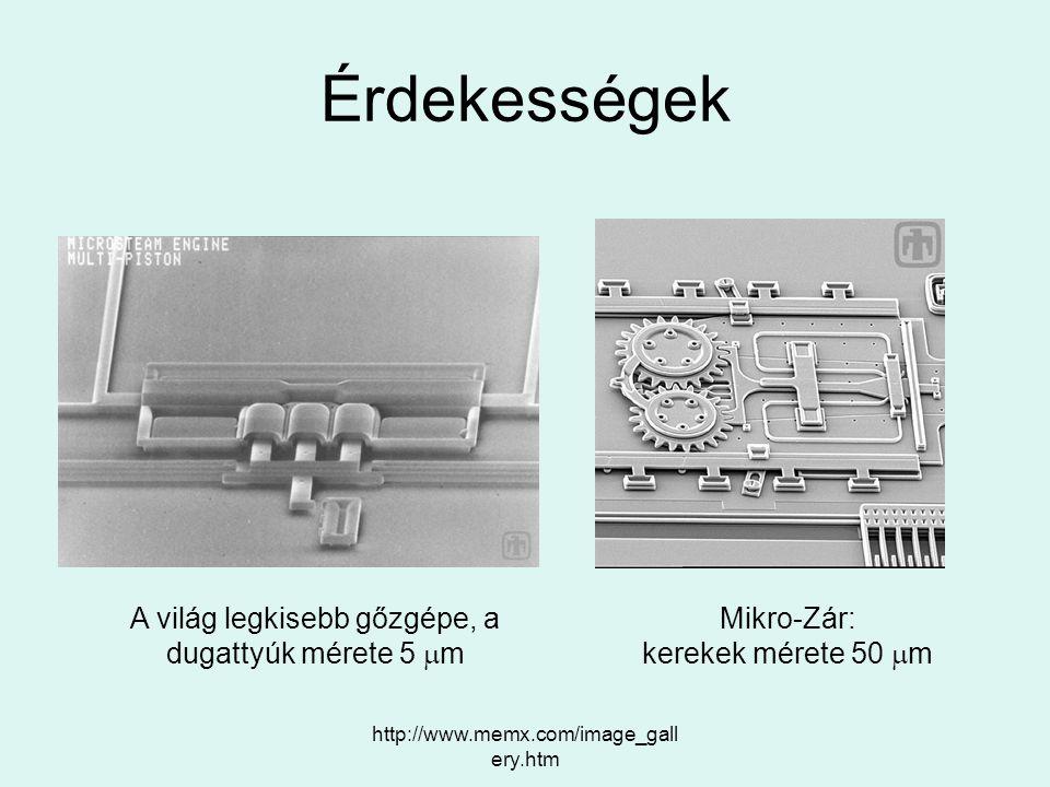 Érdekességek A világ legkisebb gőzgépe, a dugattyúk mérete 5 mm