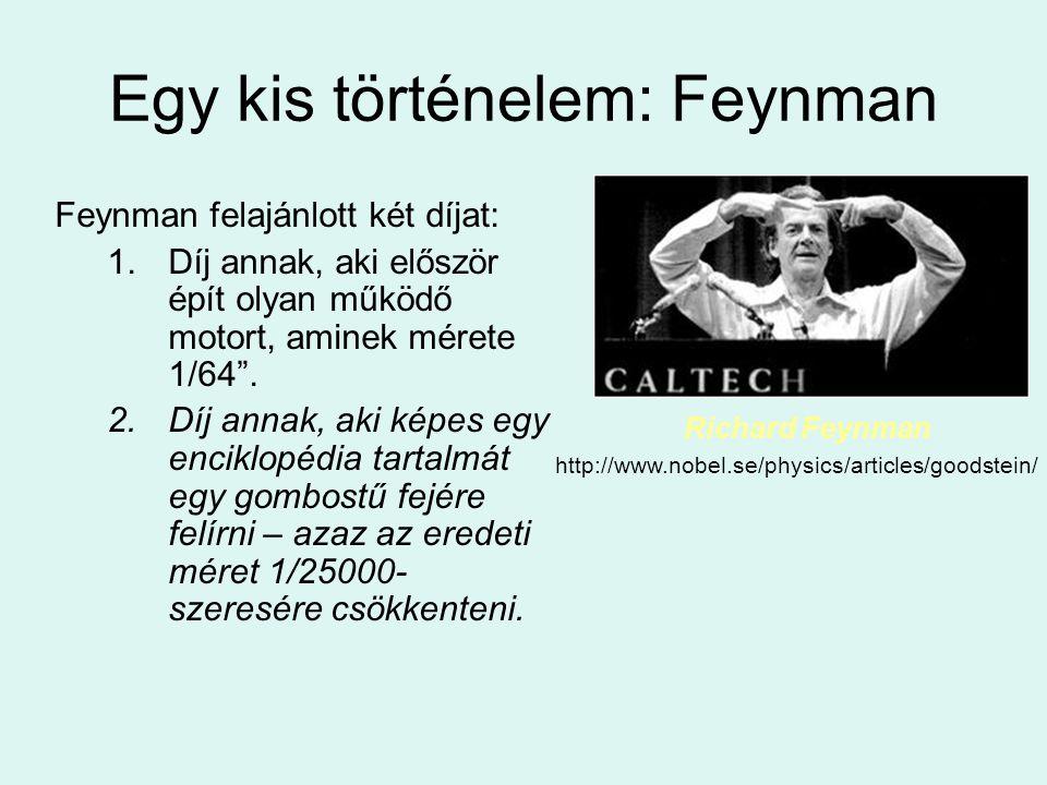 Egy kis történelem: Feynman