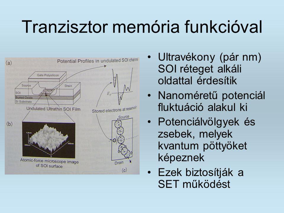 Tranzisztor memória funkcióval