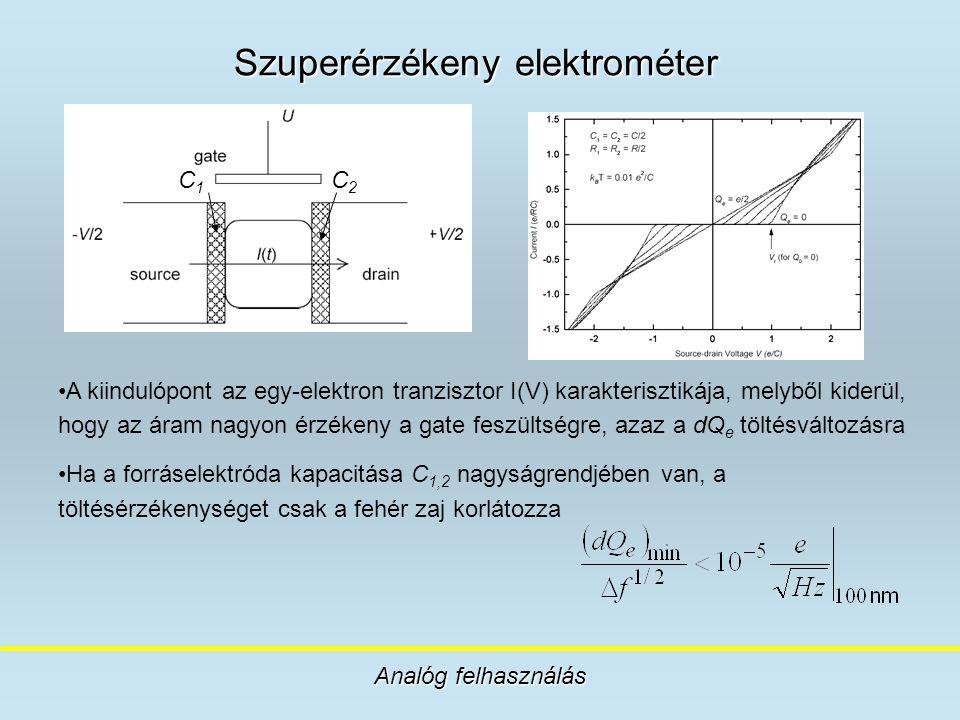 Szuperérzékeny elektrométer