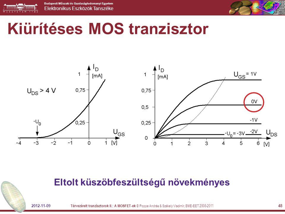 Kiürítéses MOS tranzisztor