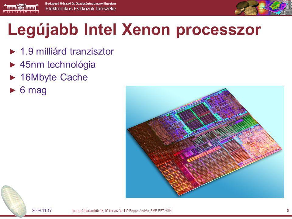 Legújabb Intel Xenon processzor