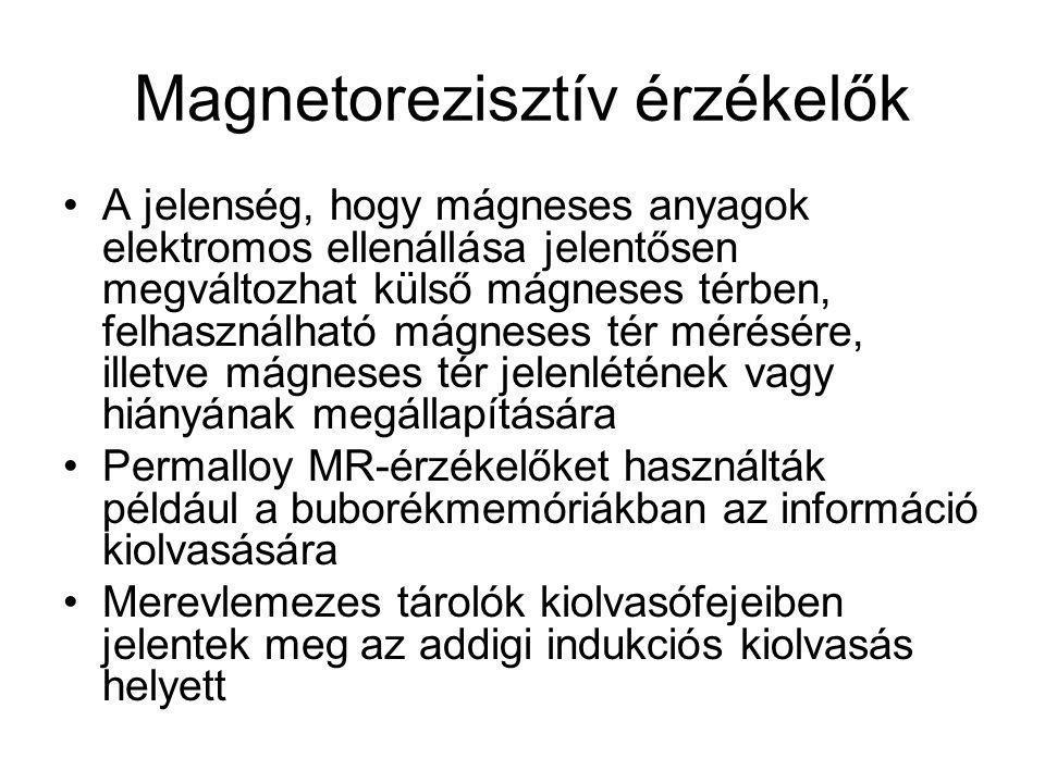 Magnetorezisztív érzékelők