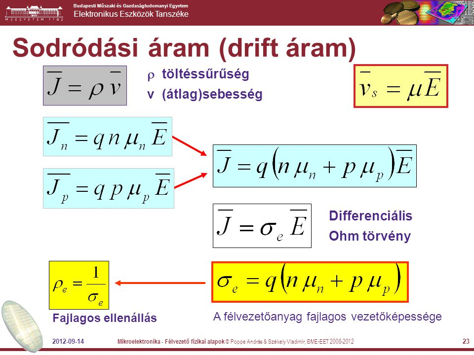 Sodródási áram (drift áram)