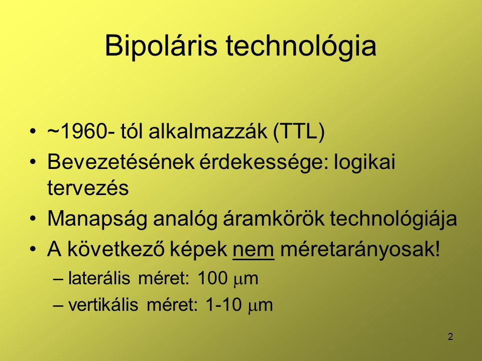 Bipoláris technológia