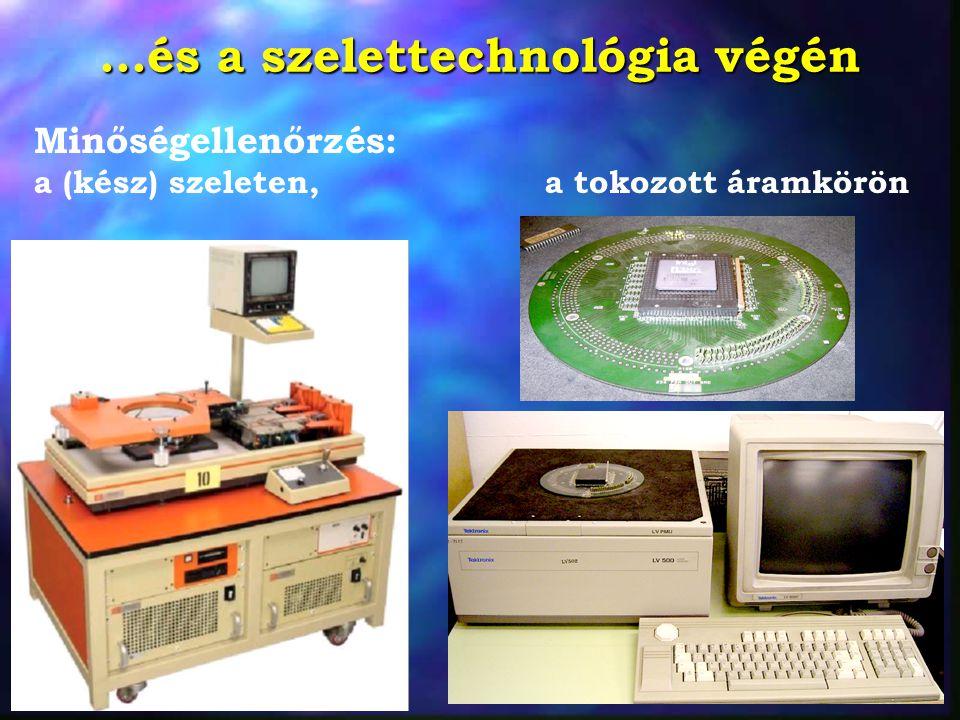 ...és a szelettechnológia végén