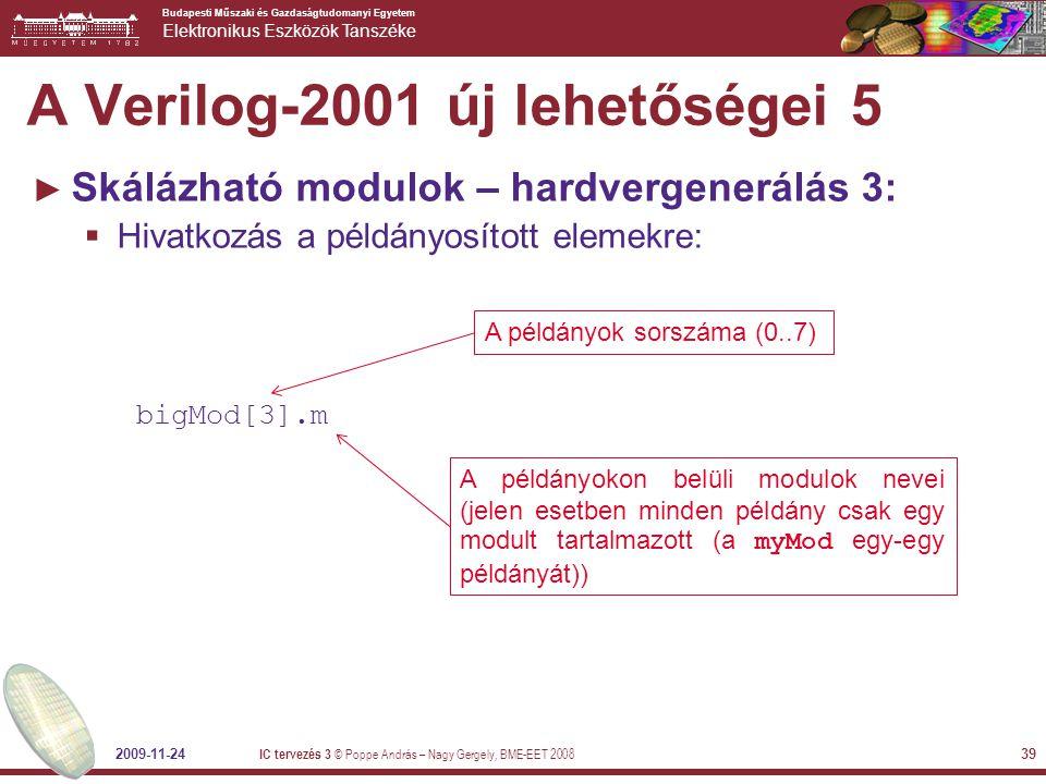 A Verilog-2001 új lehetőségei 5