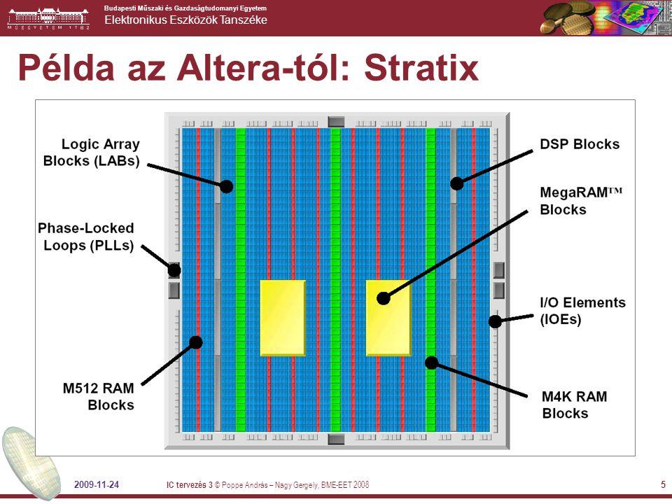 Példa az Altera-tól: Stratix
