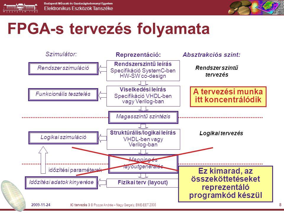 FPGA-s tervezés folyamata