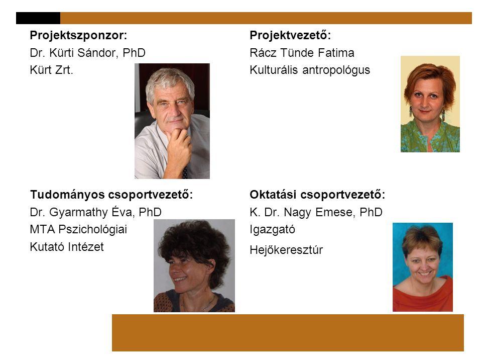Projektszponzor: Dr. Kürti Sándor, PhD Kürt Zrt.
