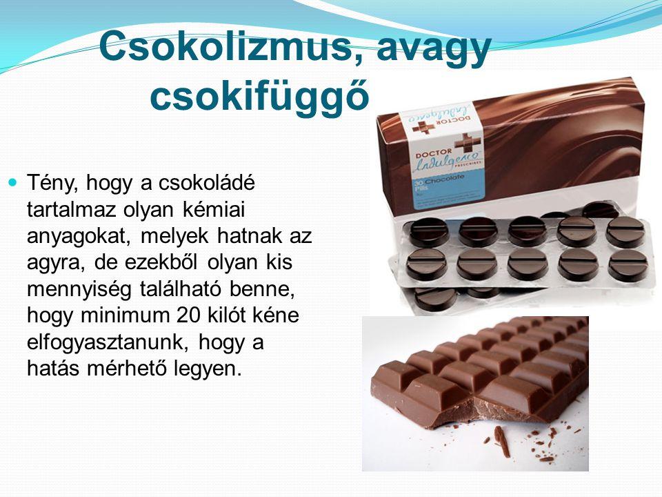 Csokolizmus, avagy csokifüggőség