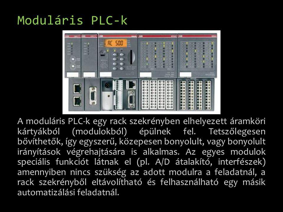 Moduláris PLC-k