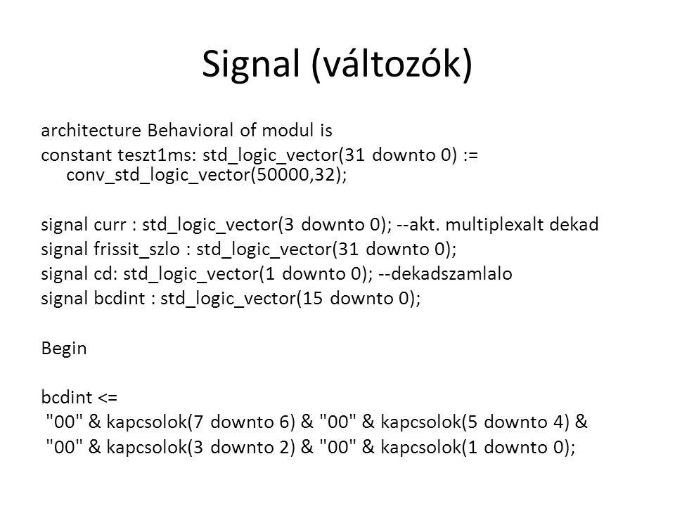Signal (változók)