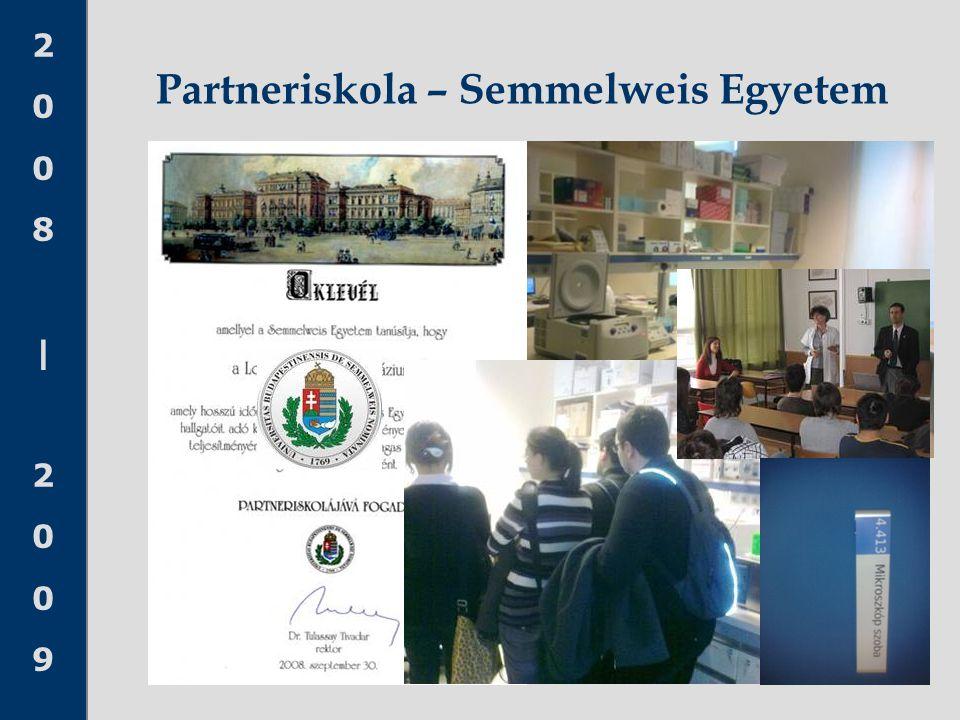 Partneriskola – Semmelweis Egyetem