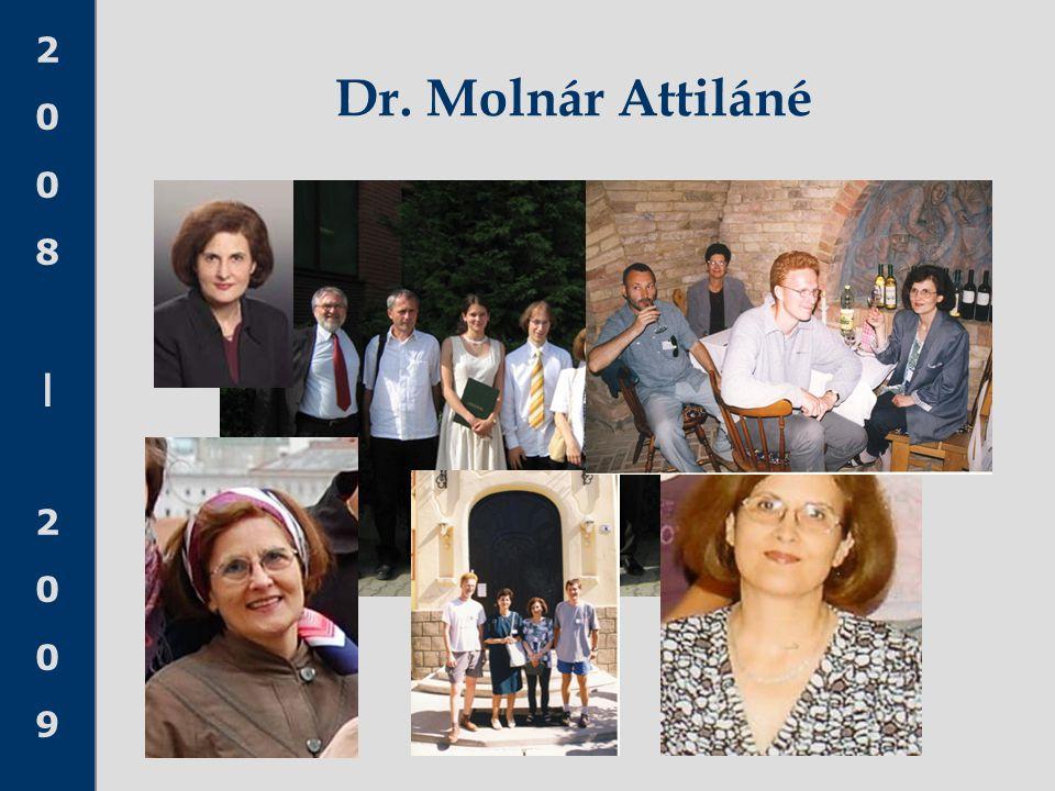 Dr. Molnár Attiláné