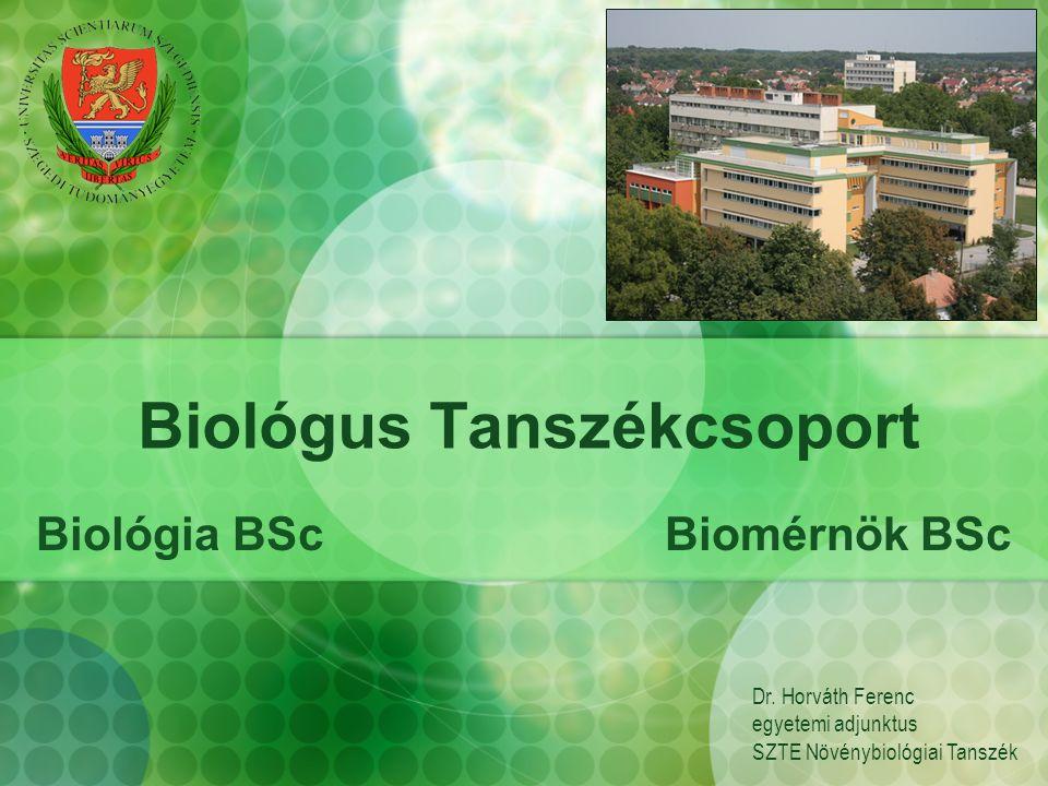 Biológus Tanszékcsoport