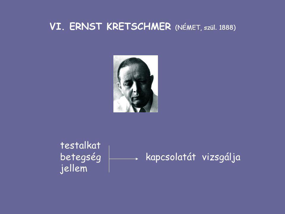 VI. ERNST KRETSCHMER (NÉMET, szül. 1888)