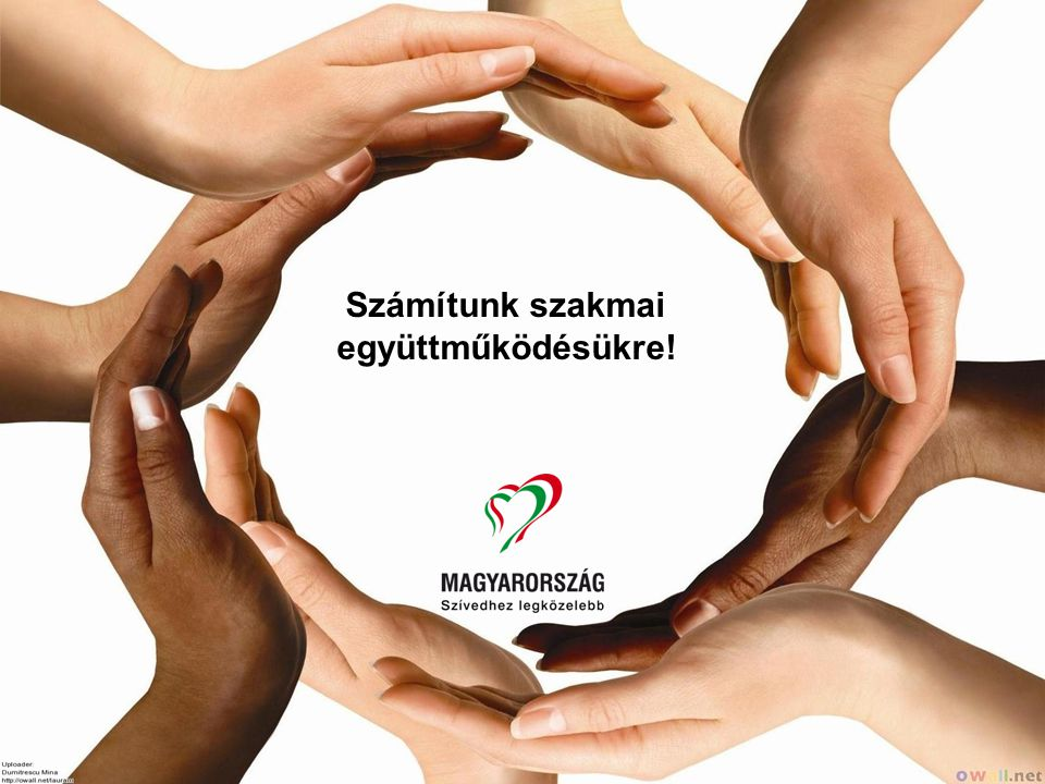 Számítunk szakmai együttműködésükre!