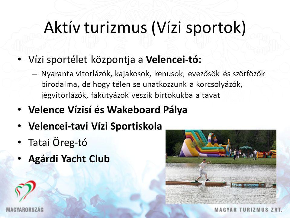 Aktív turizmus (Vízi sportok)