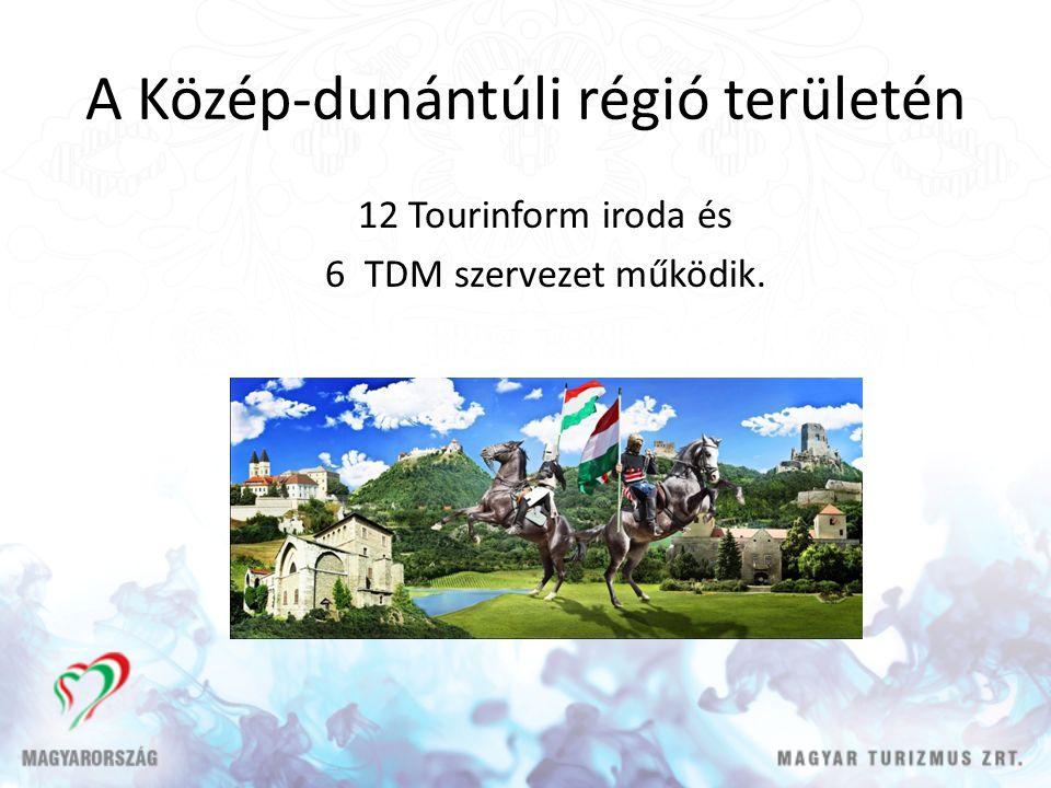 A Közép-dunántúli régió területén