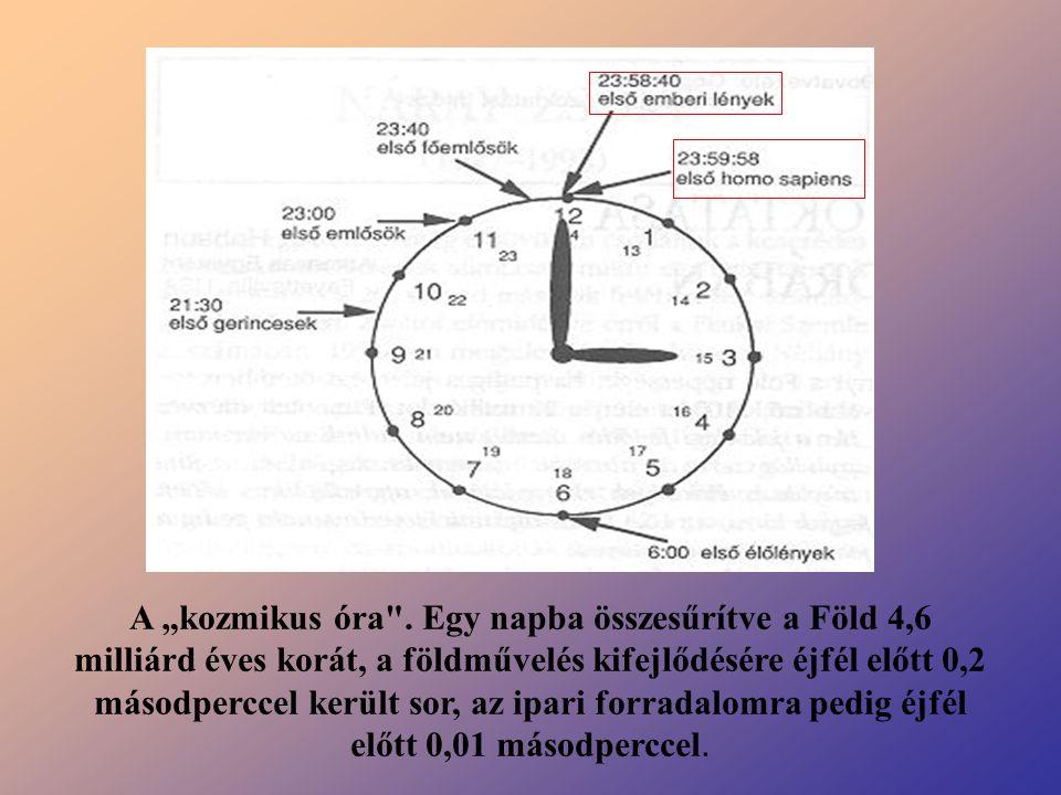 """A """"kozmikus óra ."""