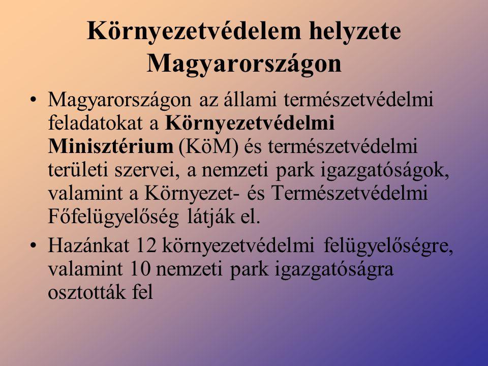 Környezetvédelem helyzete Magyarországon