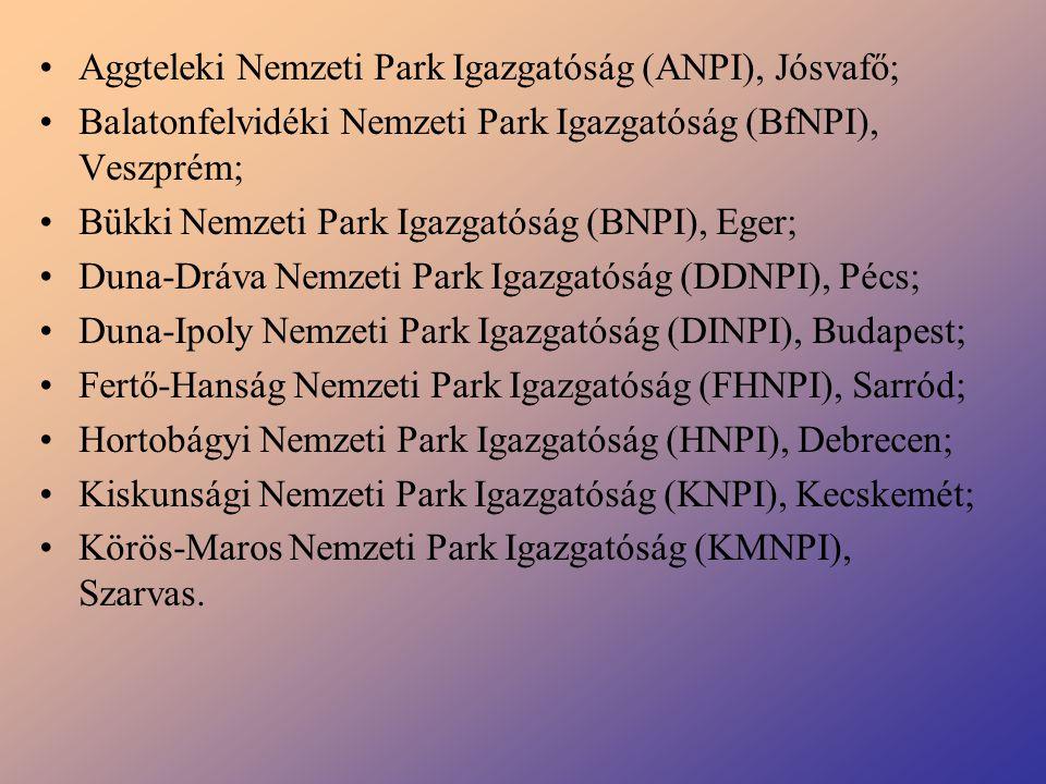 Aggteleki Nemzeti Park Igazgatóság (ANPI), Jósvafő;