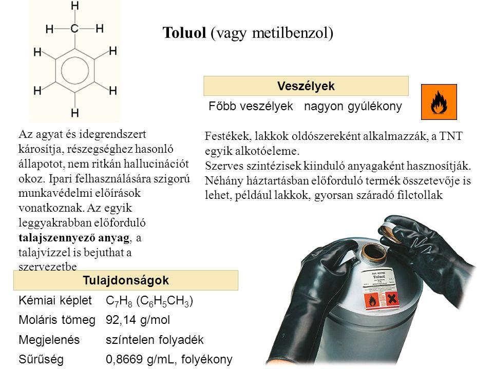 Toluol (vagy metilbenzol)