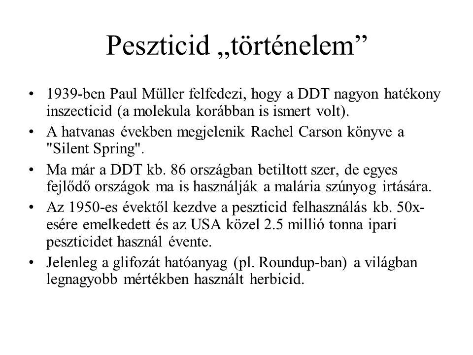 """Peszticid """"történelem"""