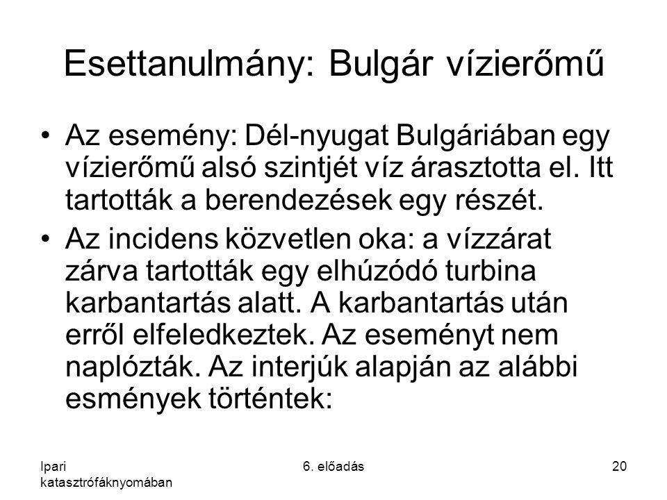 Esettanulmány: Bulgár vízierőmű