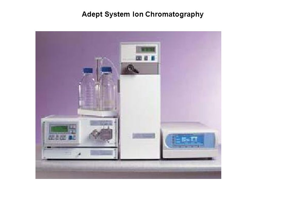 Adept System Ion Chromatography