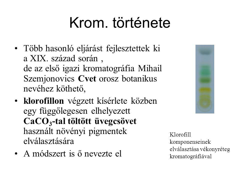 Krom. története