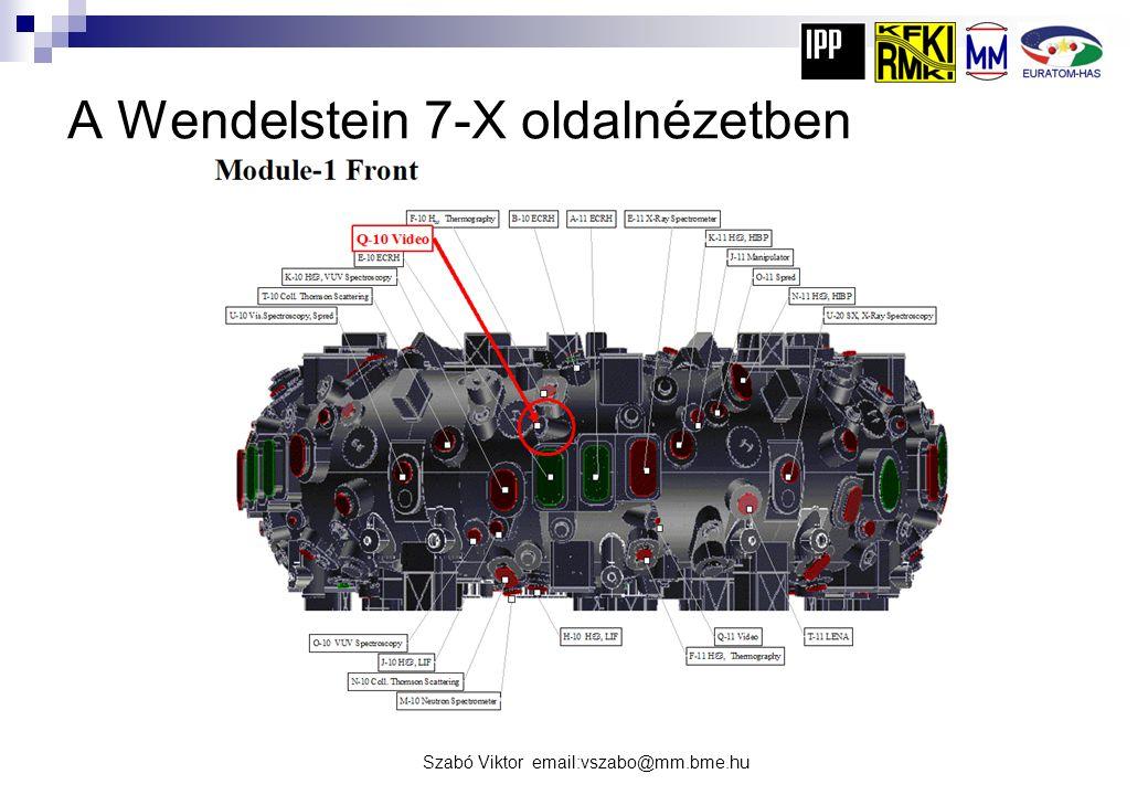 A Wendelstein 7-X oldalnézetben