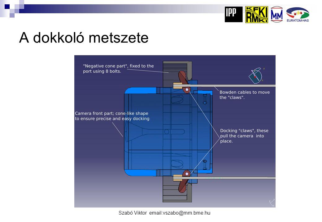 A dokkoló metszete Szabó Viktor email:vszabo@mm.bme.hu