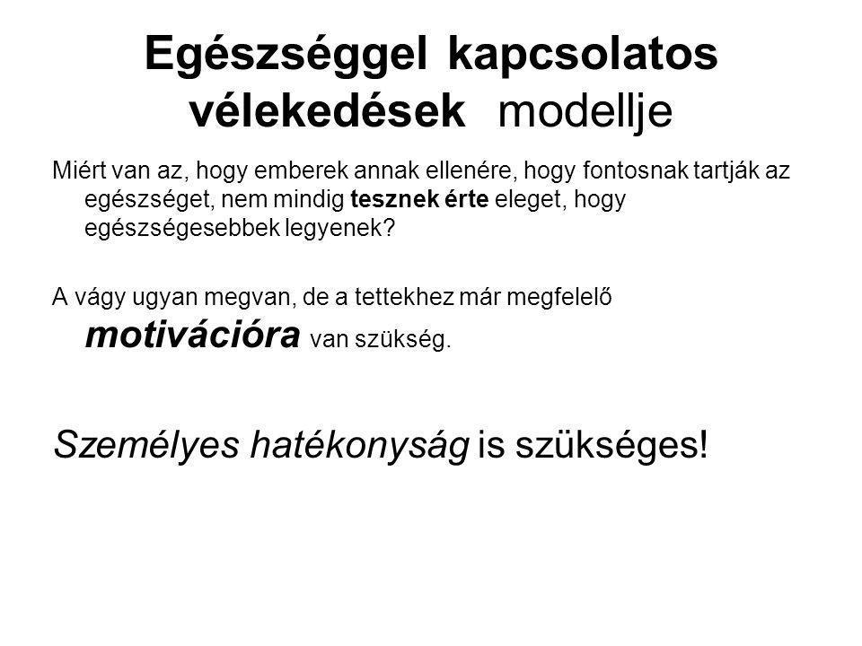 Egészséggel kapcsolatos vélekedések modellje